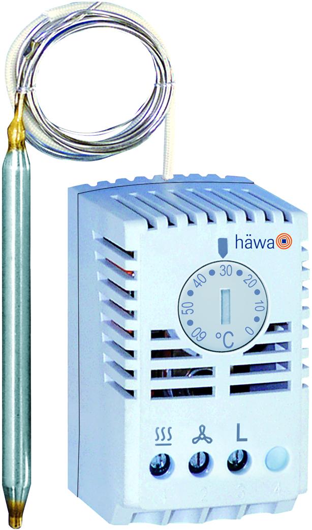 Kapilar-Thermostat, IP30   häwa